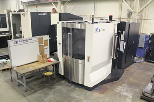 KrisDee Makino A61nx horizontal machining center